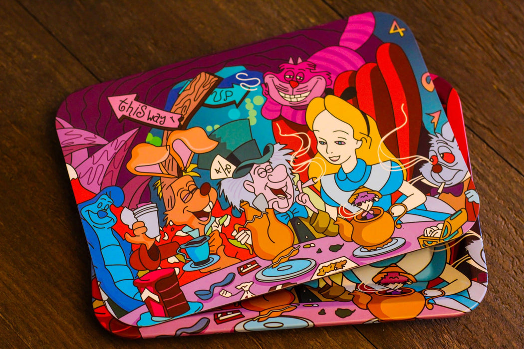 Alice in Stonerland Rolling Tray