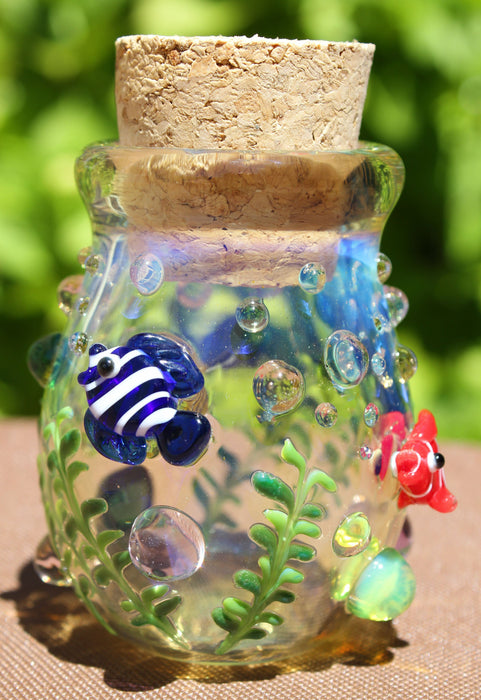 Coral Reef Stash Jar