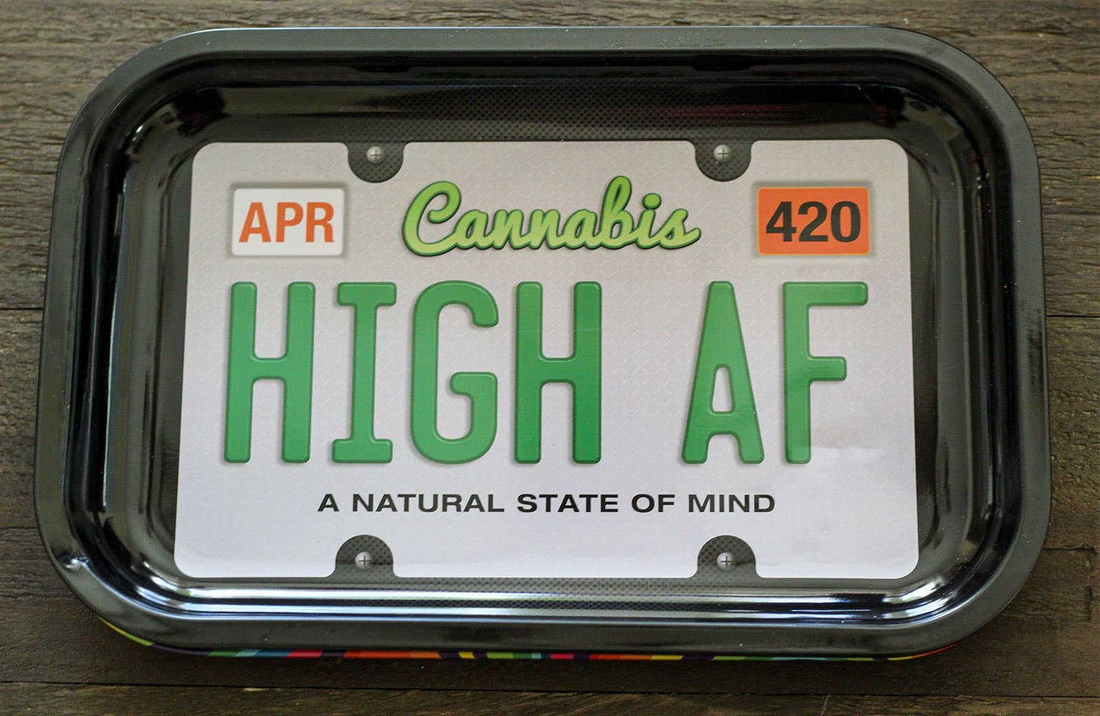Stoner License Plate Tray