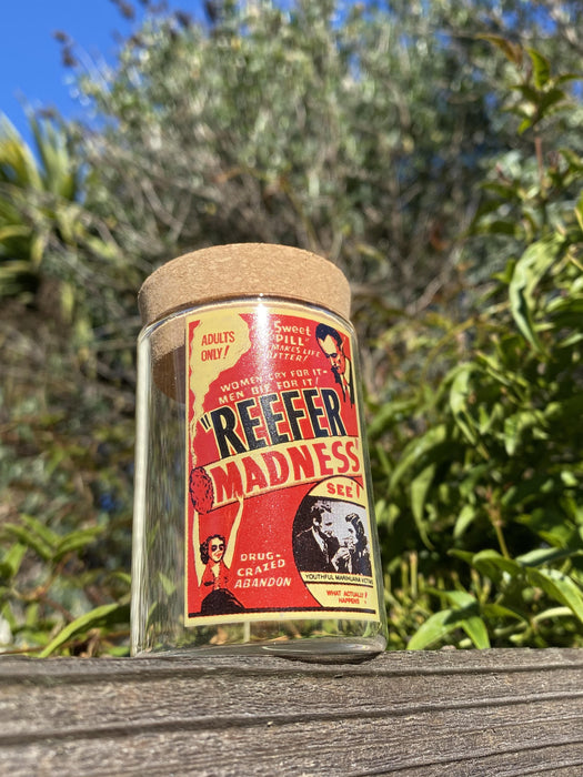 Reefer Madness Stash Jar