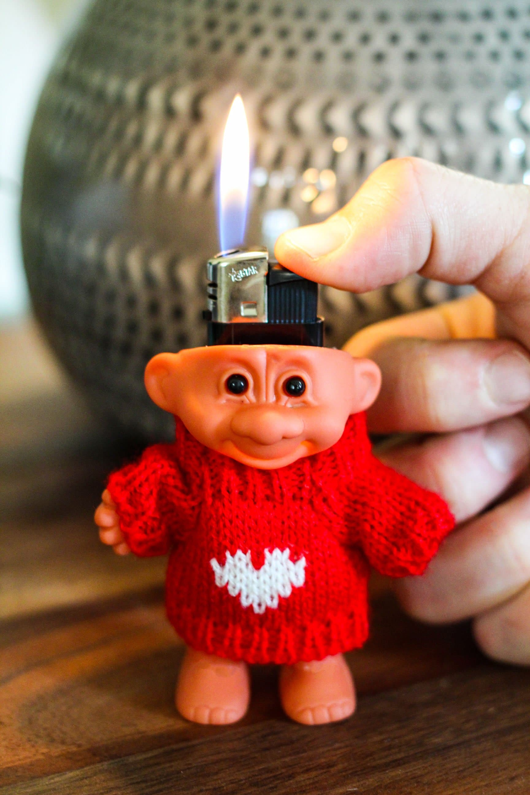 Troll Doll Lighter