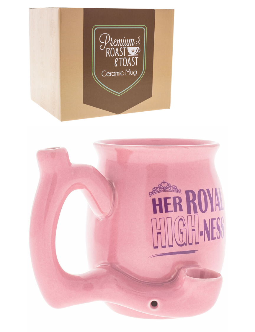 Her Royal Highness Mug Pipe