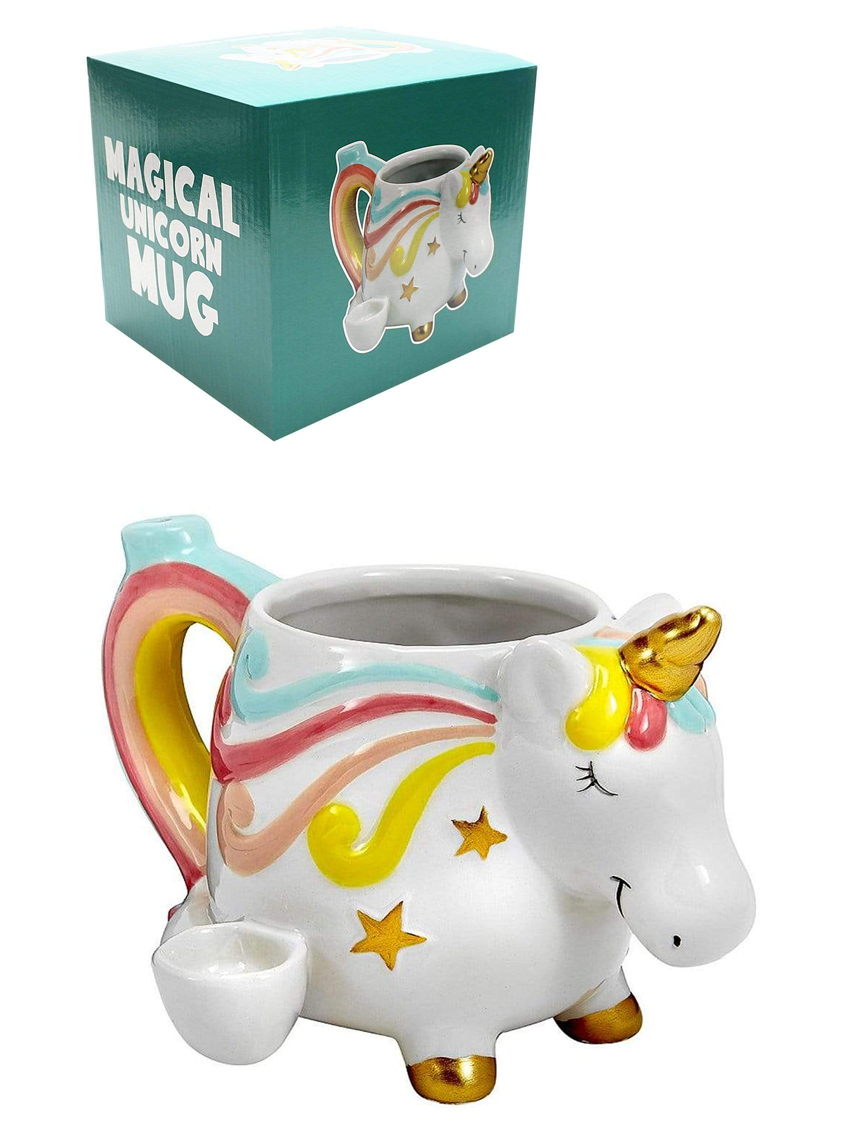 Mystical Unicorn Mug Pipe