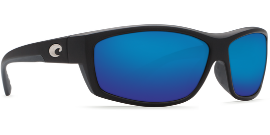 Costa Saltbreak Black, 580P Blue Mirror Sunglasses, Plastic