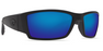 Costa Corbina Blackout, Blue Mirror Sunglasses, Glass