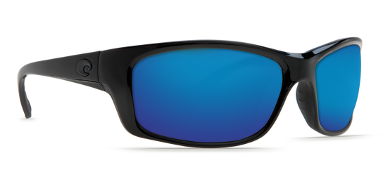 Costa Jose Blackout, Blue Mirror 580G Sunglasses, Glass