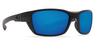 Costa Whitetip Blackout Blue Mirror 580P Sunglasses, Plastic