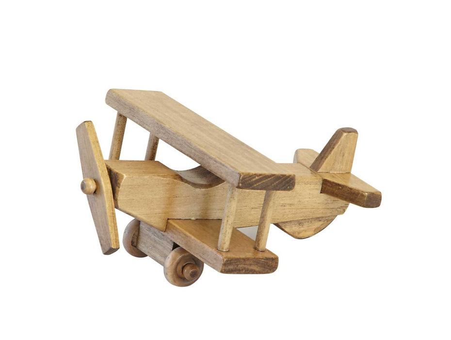 Amish Buggy Toys Wooden Airplane Small Harvest, CPSIA Kid Safe Finish