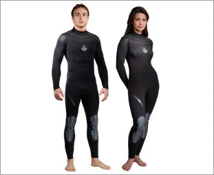 Akona Adult Men 2XD-5X 3mm Full Wetsuit