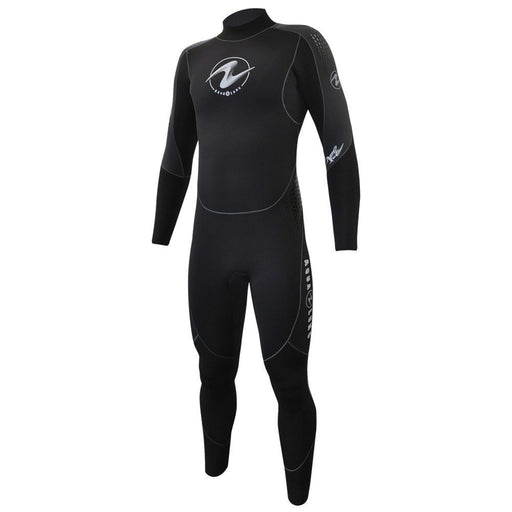 Aqua Lung Mens AquaFlex 5mm Back-Zip Scuba Diving Wet Jumpsuit