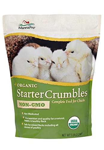 ManaPro Organic Starter Crumbles Non-Gmo For Poultry, 5 lbs