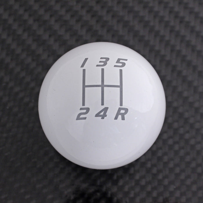 Billetworkz Weighted Shift Knob (500g) Compatible/Replacement for 2002-2014 Subaru WRX 5 Speed