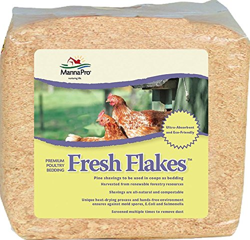 ManaPro Fresh Flakes Premium Poultry Bedding, 12 lbs