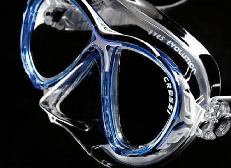 Cressi Big Eyes Evolution Crystal Scuba Diving Mask