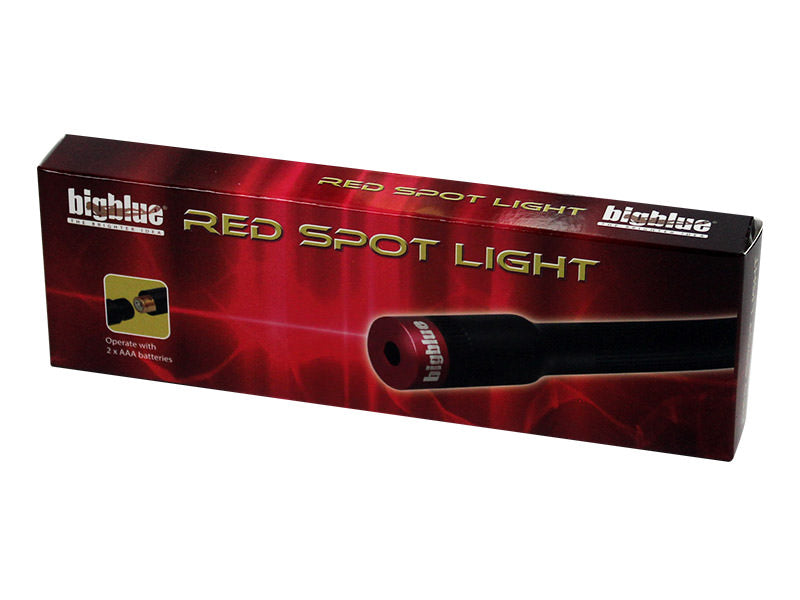 Bigblue Red Spot Light