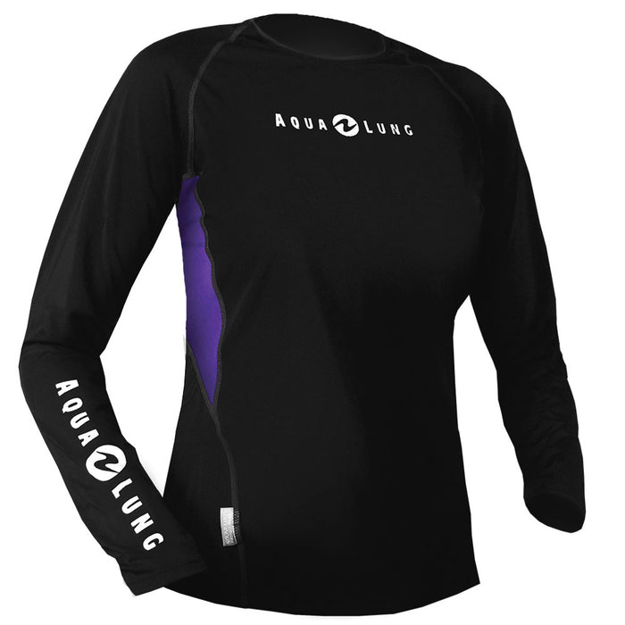 Aqua Lung Women's Long Sleves Loose Fit Rash Guards