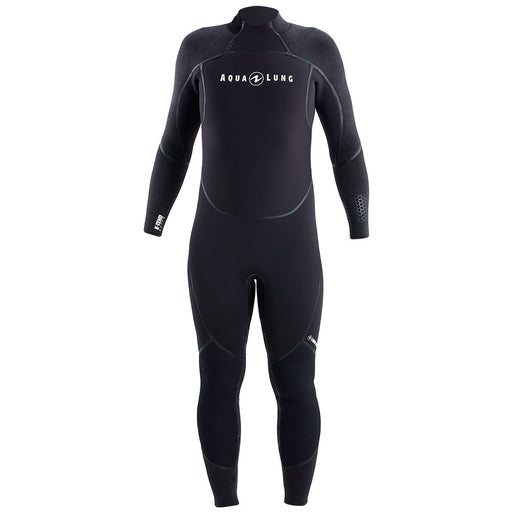 Aqua Lung Mens AquaFlex 7mm Back-Zip Scuba Diving Wet Jumpsuit