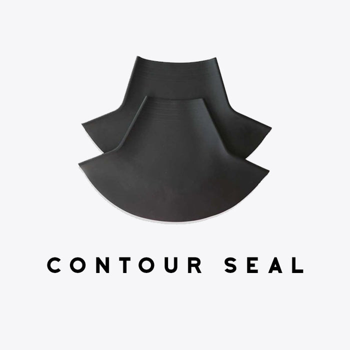 Gear Up Guide Contoured Latex Neck Seal, Conical Shape