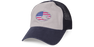 Costa United Trucker Hat, Navy/Gray