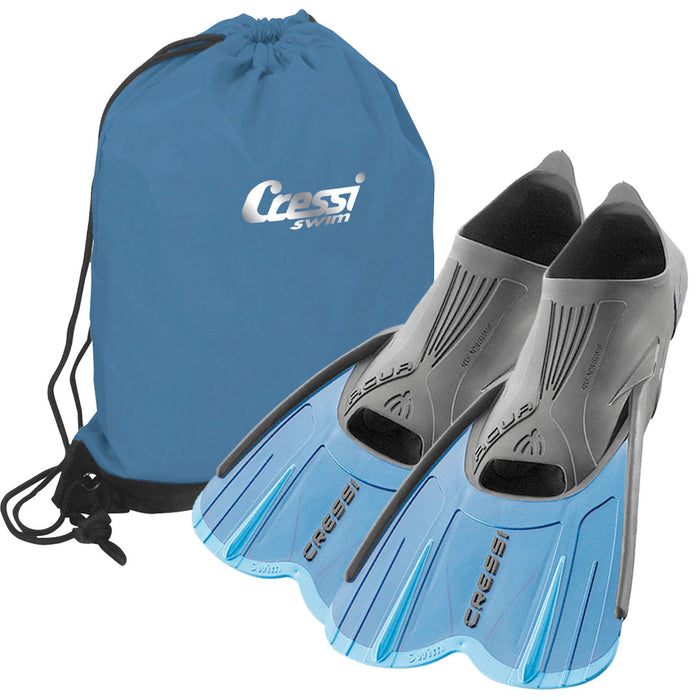 Cressi Agua Swim Fins & Pool Bag Set