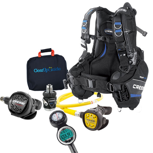Cressi Cold and Warm Water Scuba Gear Package Fully Assembled