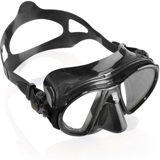 Cressi Air Mask Scuba Gear Package w/ Frog Plus Fins, Alpha Ultra Dry Snorkel & GupG Mesh Bag