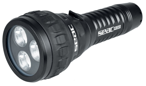 SEAC R30 LED Aluminum Dive Light w/ Tempered Optical Glass