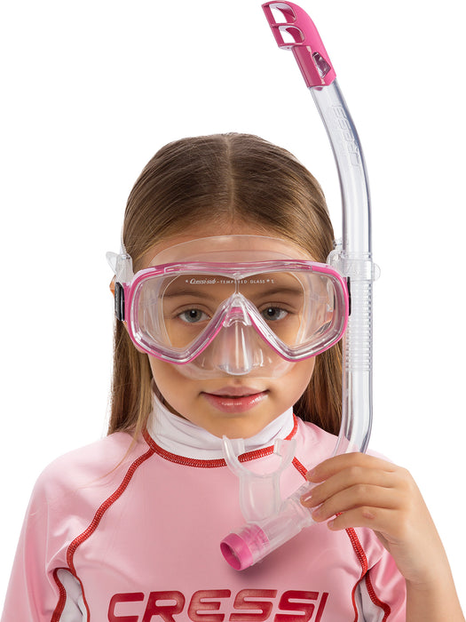 Cressi Ondina Mask & Top Jr Snorkel Set