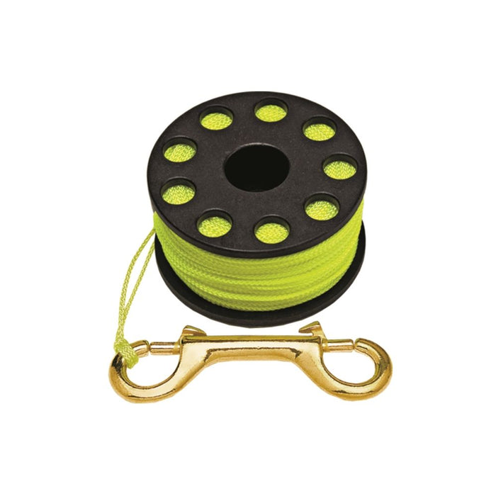 Innovative Scuba Concepts Finger Spool Black, Yellow Line