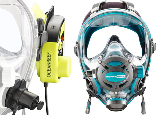Ocean Reef GSM G Divers Full Face Scuba Mask w/ Communication System