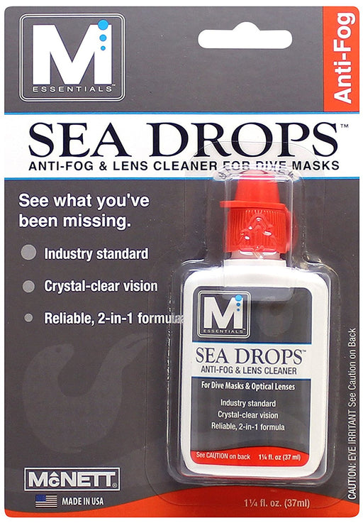 McNett Sea Drop Anti-Fog & Mask Cleaner 1.25 oz