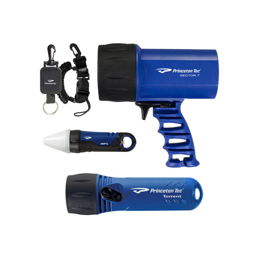 Princeton Tec Nav Pack Dive Light Set