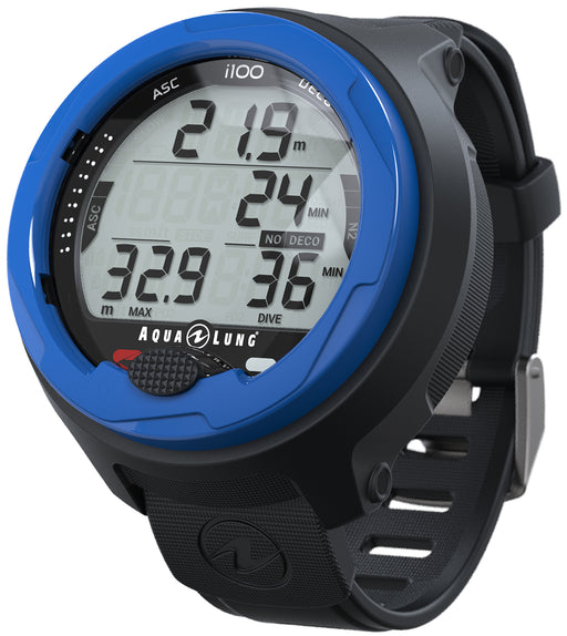 Aqua Lung i100 Wrist Dive Computer Modes Scuba / Enriched Air / Gauge / Freediving (Custom)