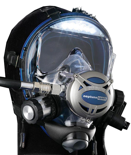 Ocean Reef Visor Lights Pre-assembled on any Neptune Space (price does not include mask) 110/220 V
