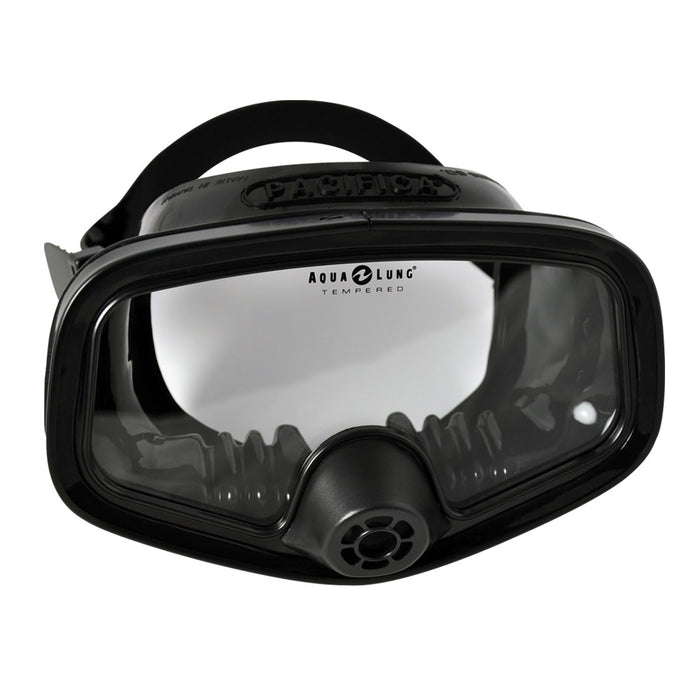 Aqua Lung Pacifica Mask, Black Silicone