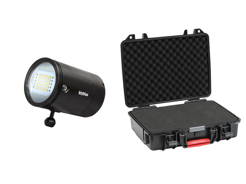 Bigblue VL33000P Mini Video Light with Protective Case