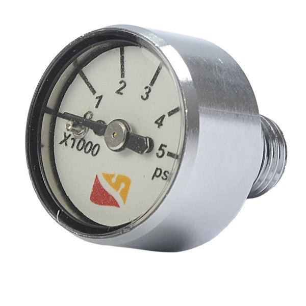 "Dive Rite SPG- Small Button Gauge 1"" Face"