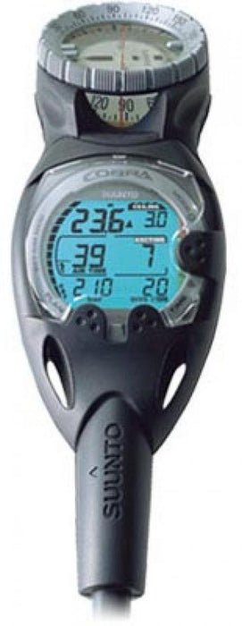 SUUNTO Cobra Dive Computer Pro Pack incl Compass, QR & USB, Scuba Diving Instrument