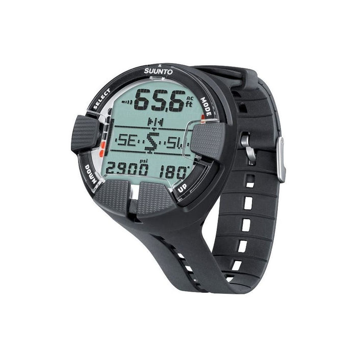 SUUNTO Vyper Air Wrist Top Dive Computer with USB, Scuba Diving Instrument/All Black