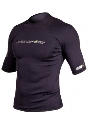 NeoSport Men's 1.5mm XSPAN Short Sleeve Tops