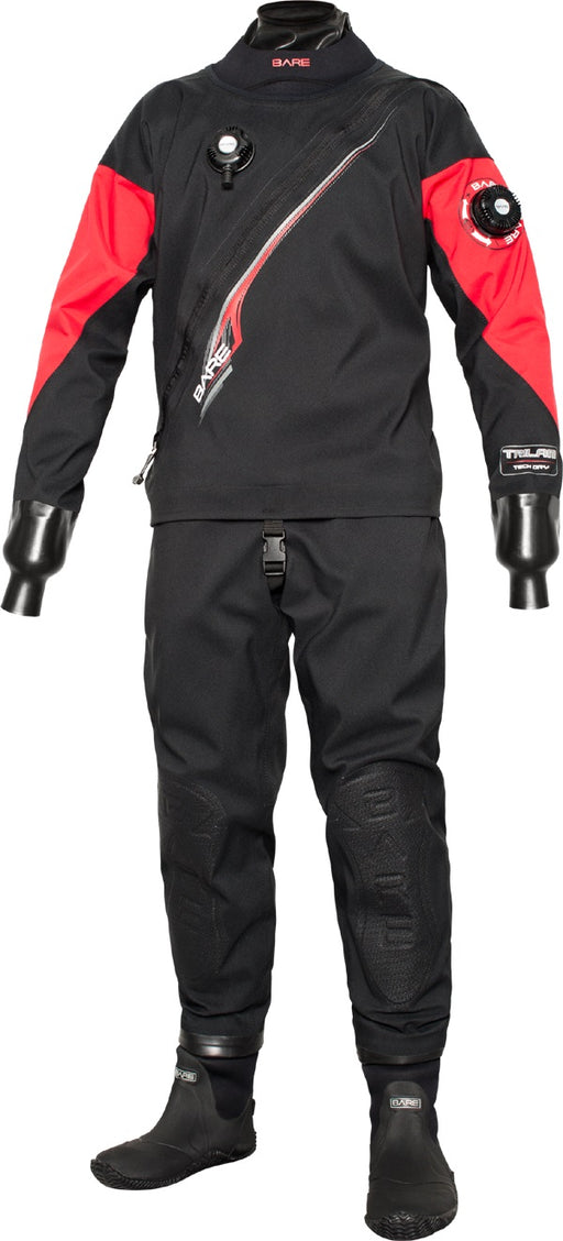 BARE Trilam Tech Dry Front Zip Drysuit
