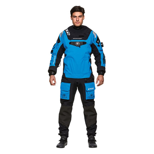 Waterproof Men's EX2 Drysuit Blue