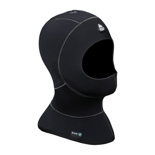 Waterproof H1 5/7mm Vented Anatomical Hood with Bib