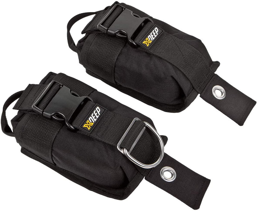 XDeep Weight Pockets, X-Large (6 Kg each), 2 pc