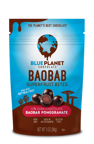 Baobab Superfruit Bites - Baobab Pomegranate