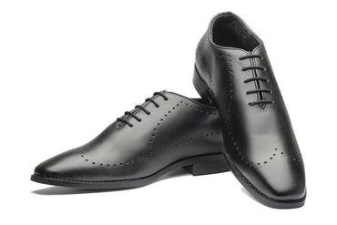 King Liam Oxfords - Black - Dapperfeet