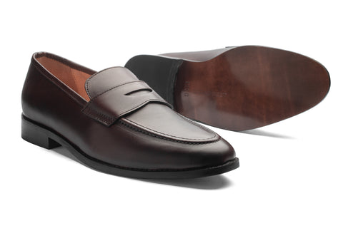 Penny Loafers - Brown - Dapperfeet
