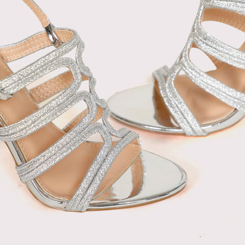 Gladiator Sandals - Silver