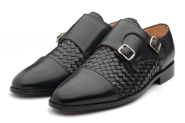 Borris Monk straps - Black - Dapperfeet