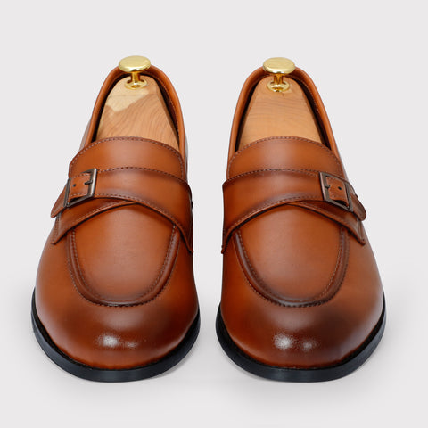 Macan Single Monks - Tan - Dapperfeet
